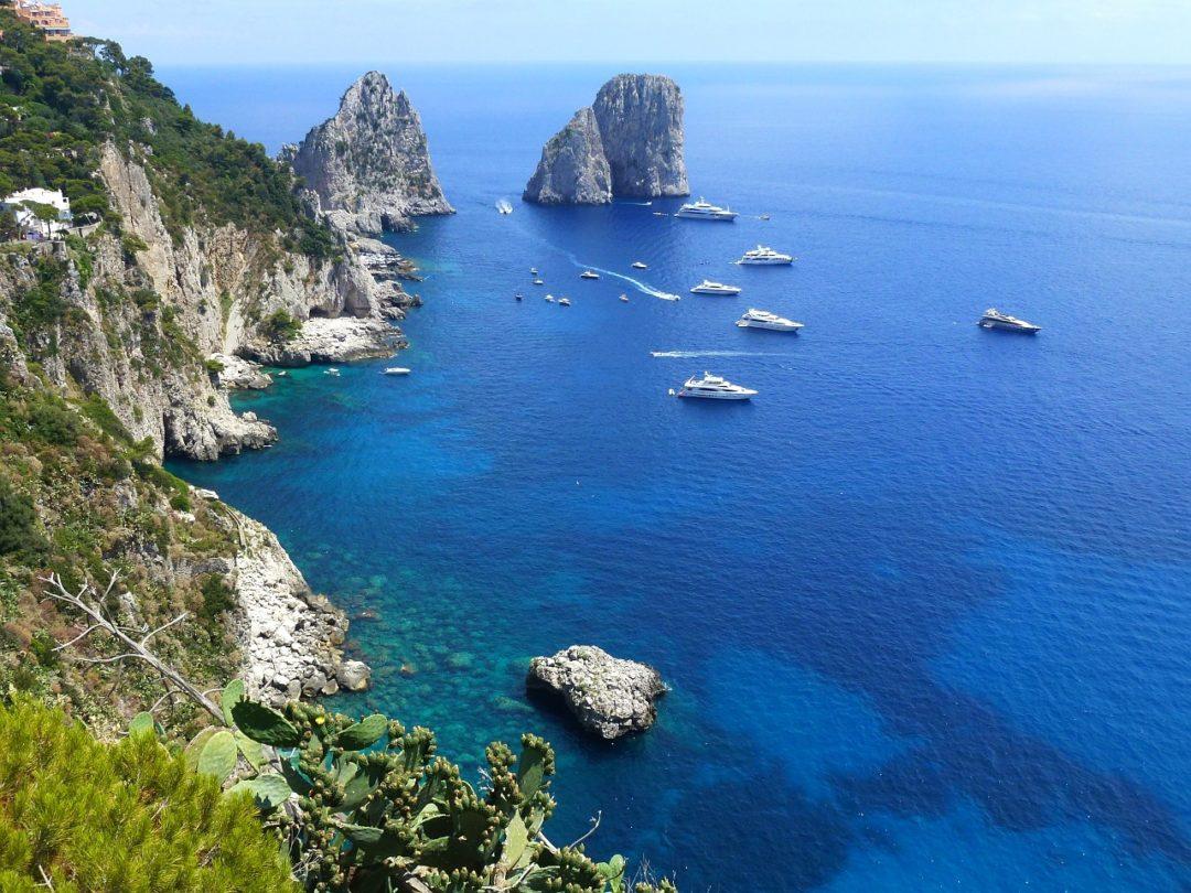Capri madártávlatból