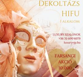 Kreatívok: Farsangi akciók a Luxury szalonokban